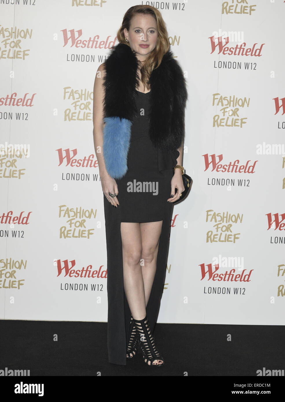 4cc27e01025 Fashion For Relief Pop-Up at Westfield - Arrivals Featuring  Rosie  Fortescue Where