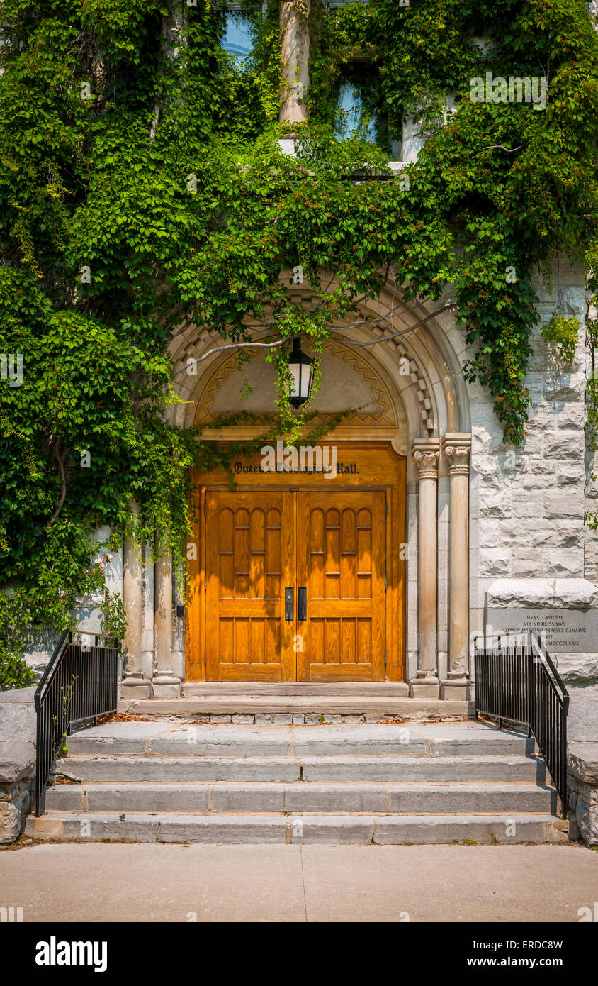 Doors Of Theological Hall Building On Queen\u0027s University Cu0026us In Kingston Ontario Canada. & Doors Kingston u0026 CAM01581