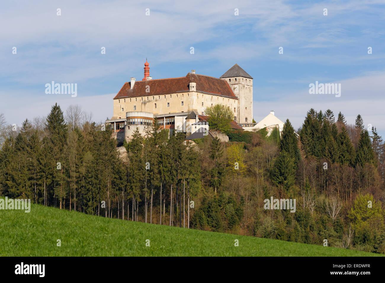 Schlosshotel Krumbach, Bucklige Welt, in Krumbach, Industrial Quarter, Lower Austria, Austria - Stock Image