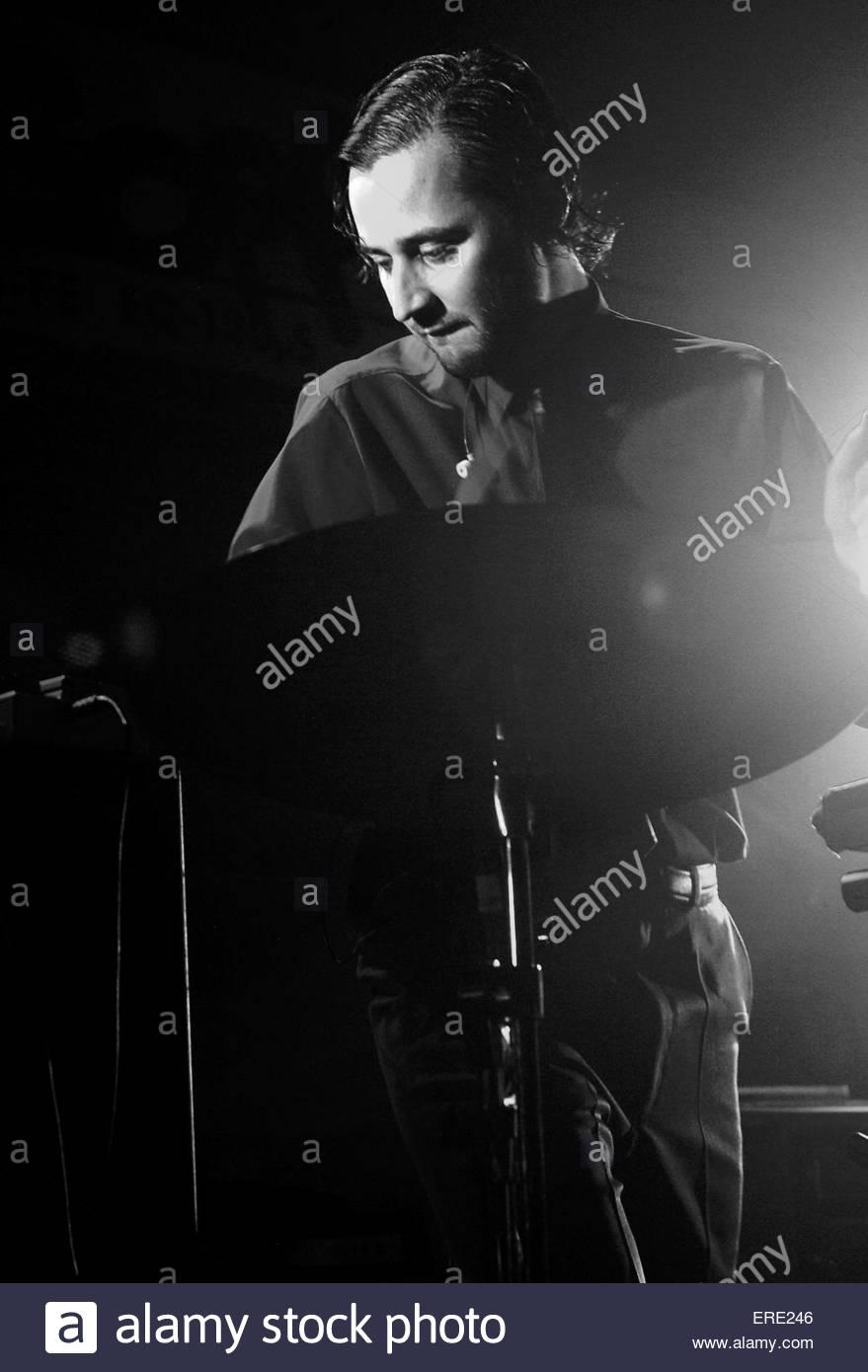 Svein Berge of Royksopp performing in Bristol, October 2005. - Stock Image