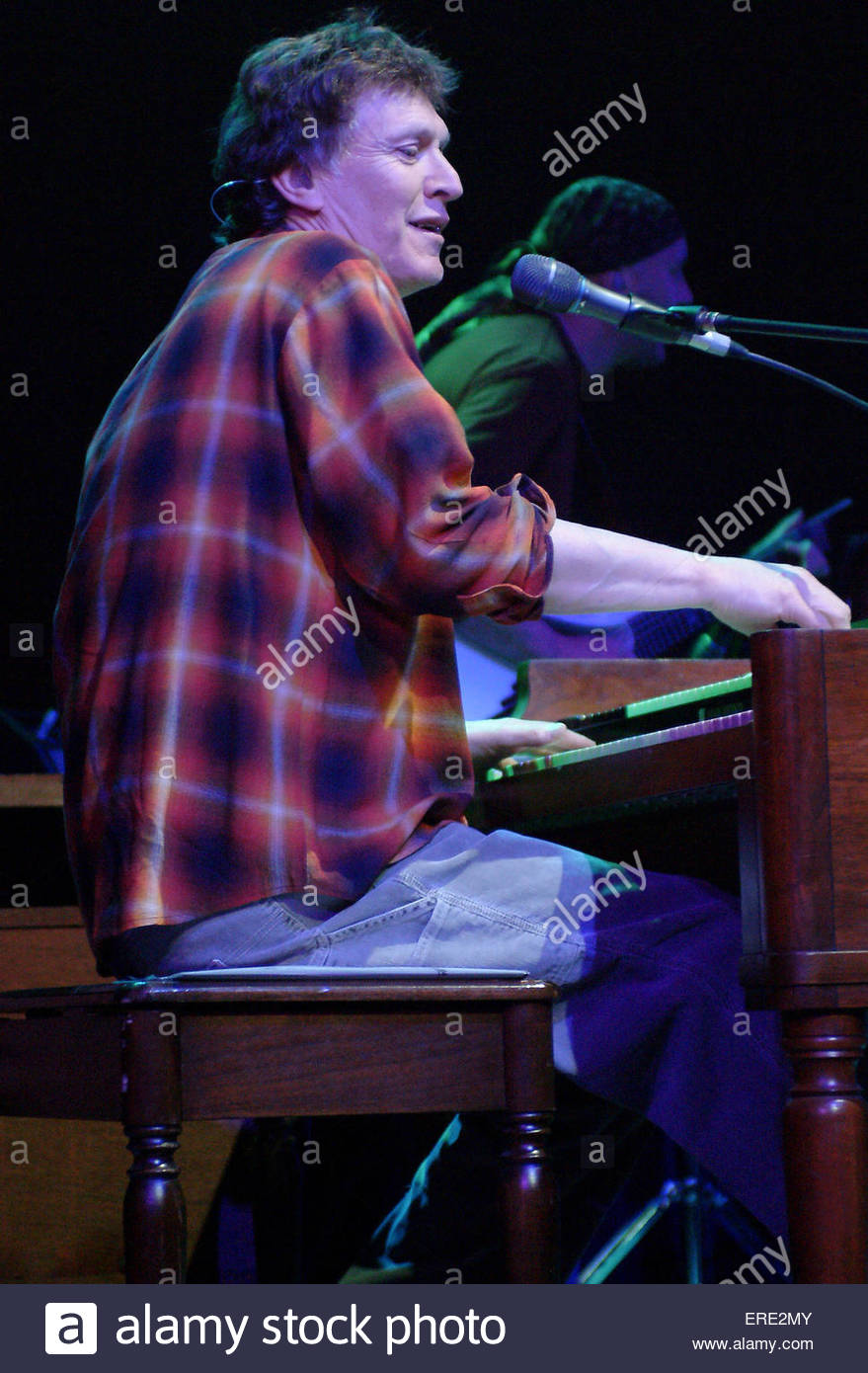 Steve Winwood performing in Bristol, March 2004. - Stock Image