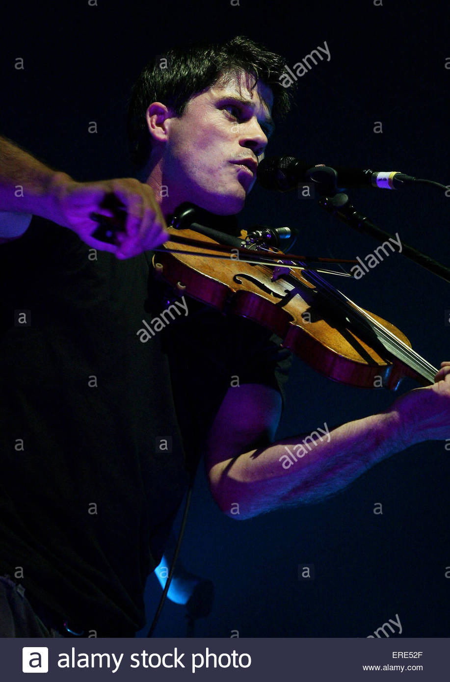 Seth Lakeman performing at Carling Academy Bristol 11 October 2007 - Stock Image