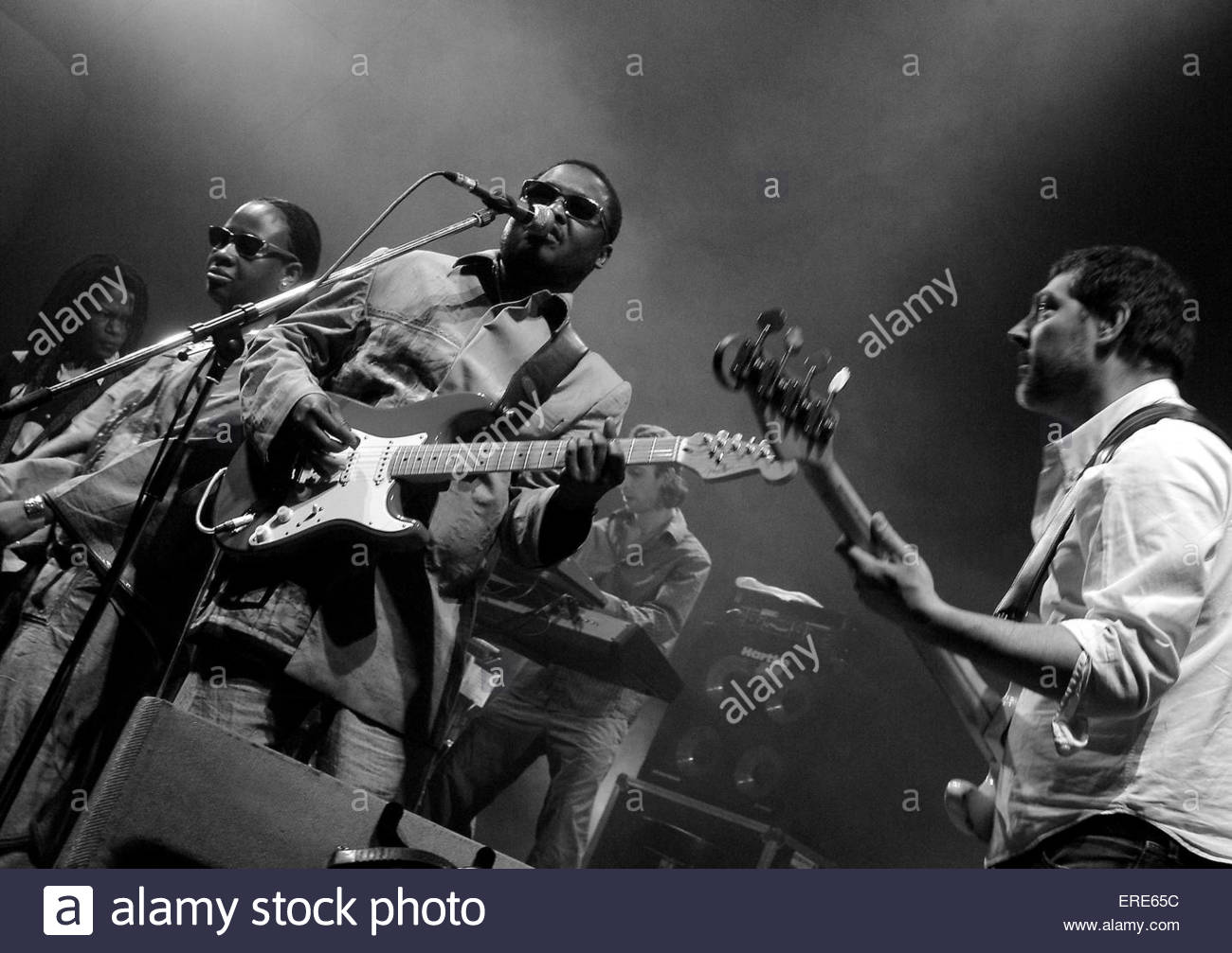 African Soul Rebels performing at The Colston Hall - Stock Image