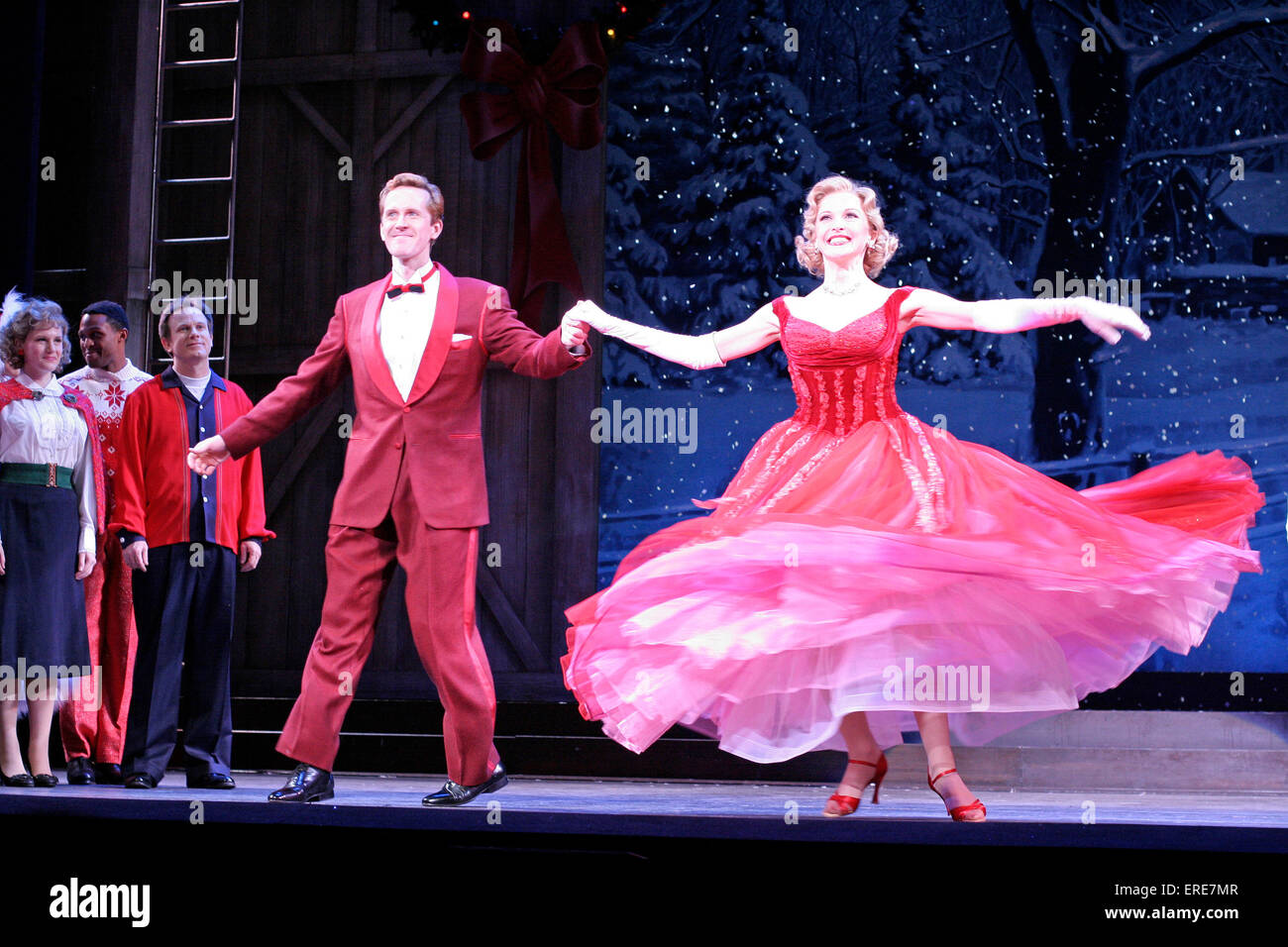 Jeffry Denman and Meredith Patterson in the opening of Irving Berlin ...