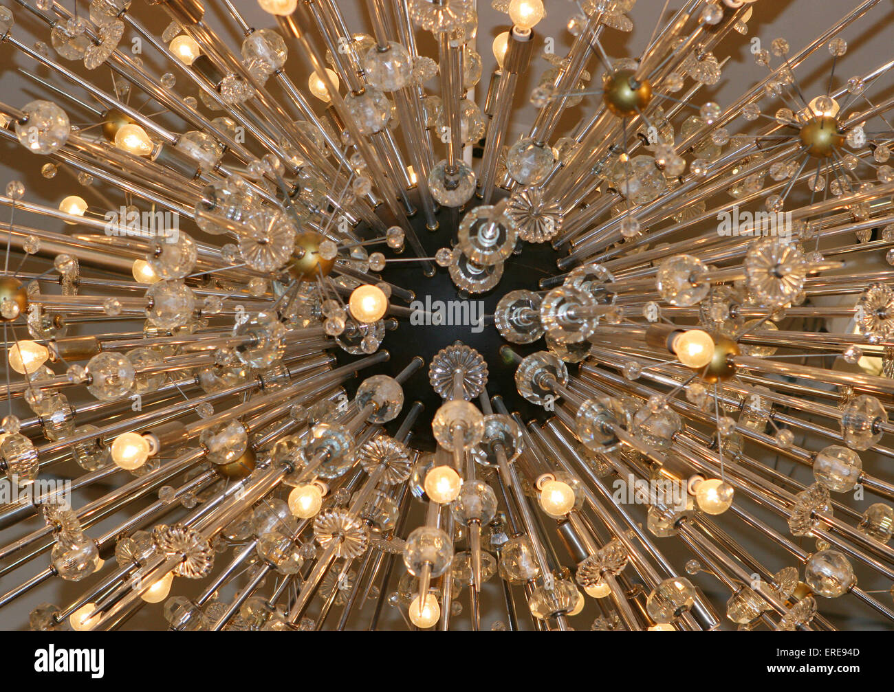 Designed By Hans Harald Rath President Of The Austrian Firm Lobmeyer Famous Crystal Chandeliers Were Given To Metropolitan Opera