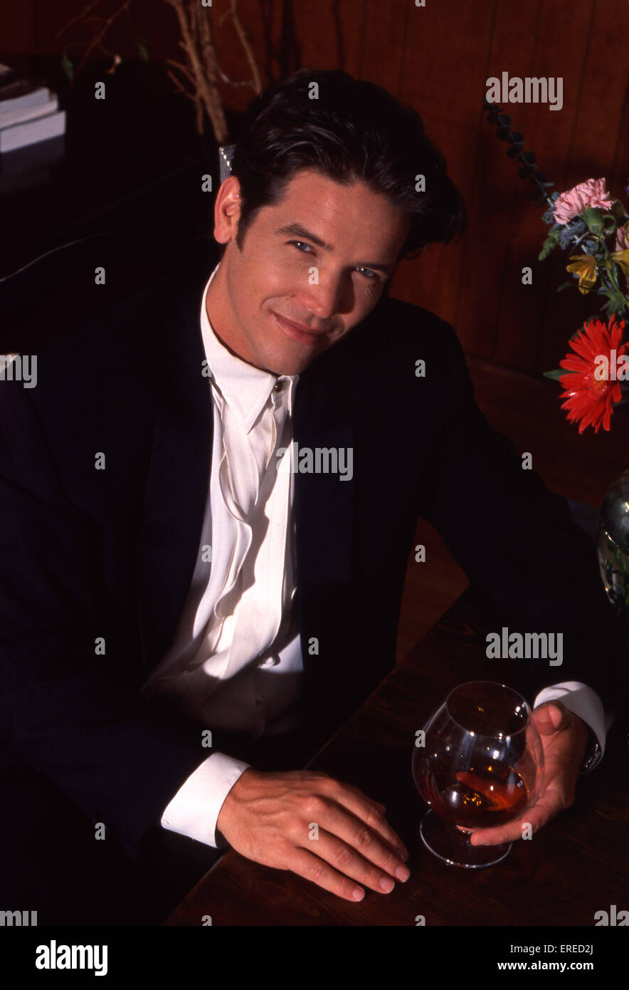 Michael Damian, portrait, Los Angeles, USA. American actor, singer and producer, b April 26, 1962 -. Stock Photo