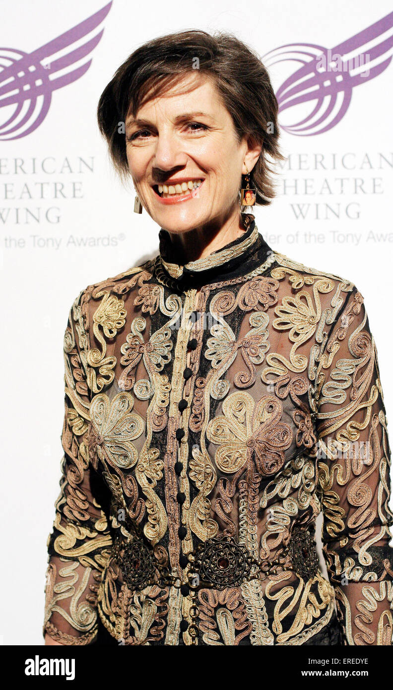 Actress Harriet Walter Attends The American Theatre Wings 2009