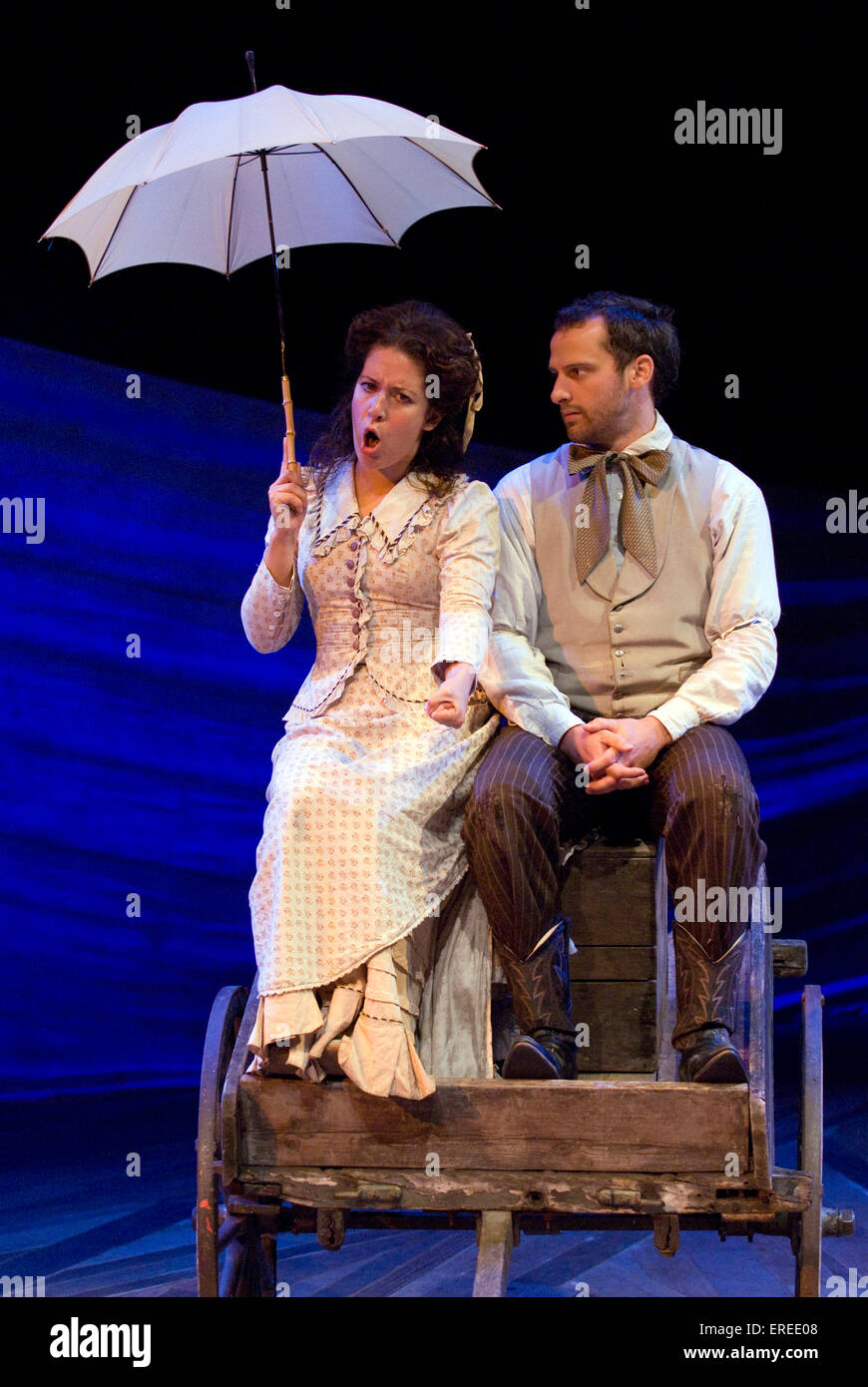 Natalie Casey As Ado Annie And Michael Rouse As Will Parker In Stock Photo Alamy