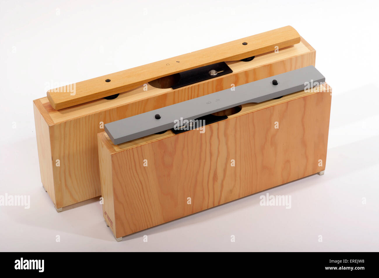 Large Bass Chime Bar And Wooden Marimba Note With Resonator Box