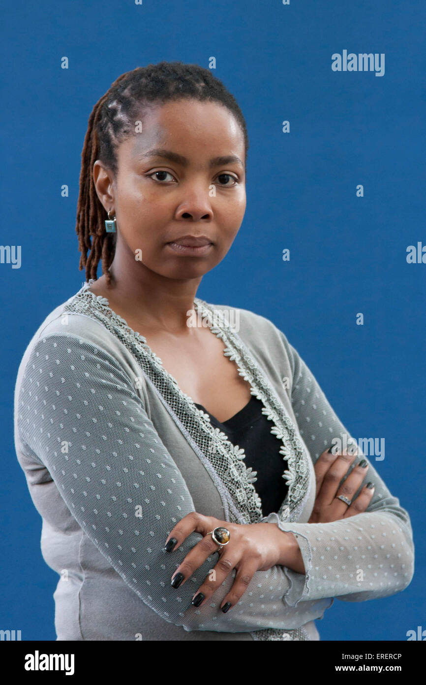Pumla Dineo Gqola, Associate Professor of Literary, Media and Gender Studies at the School of Literature and Language - Stock Image