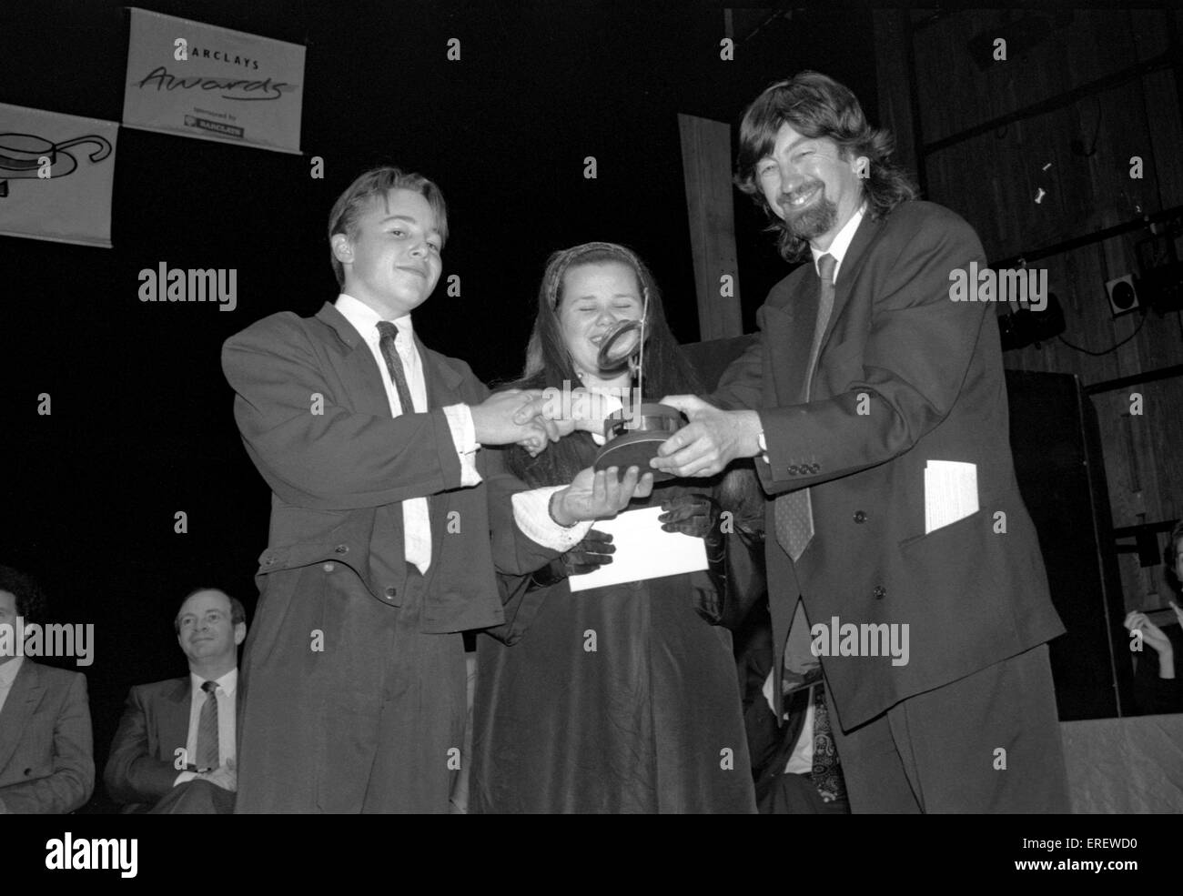 Sir Trevor Nunn CBE at the Barclays Children's Theatre Awards, Queen Elizabeth Hall, London,  1990. English - Stock Image
