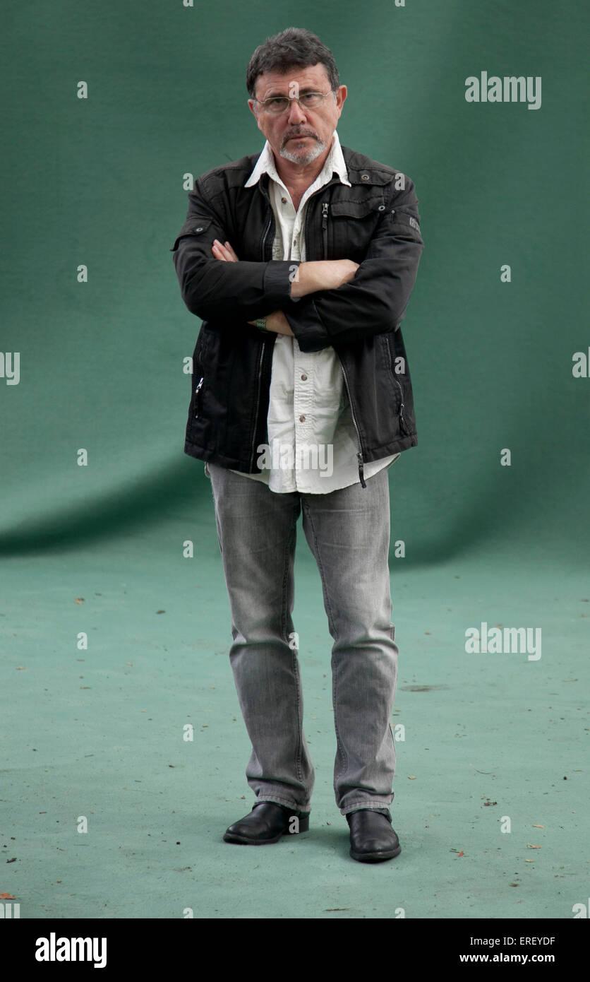Shlomo Sand at the Edinburgh Book Festival 2011. Tel Aviv University professor and 'post-Zionist' author: - Stock Image