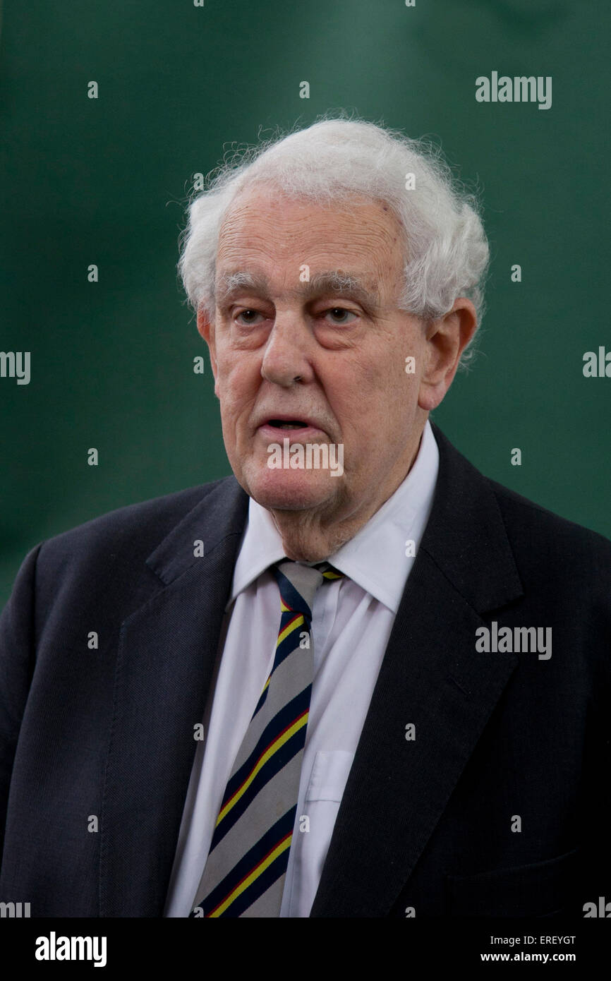 Sir Thomas Dalyell at the Edinburgh Book Festival 2011. British Labour Party politician and former MP (1962 - 2005) - Stock Image