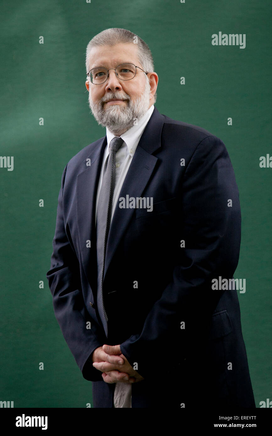 Michael Scheuer. At the Edinburgh International Book Festival 2011. American former CIA intelligence officer, writer - Stock Image