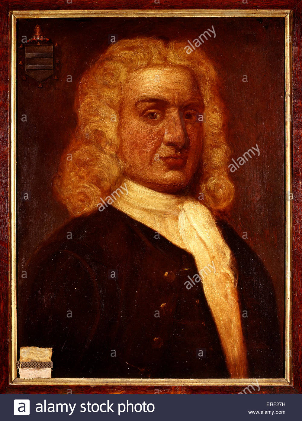 Captain William Kidd by Sir James Thornhill. Scottish sailor remembered for his trial and execution for piracy after - Stock Image