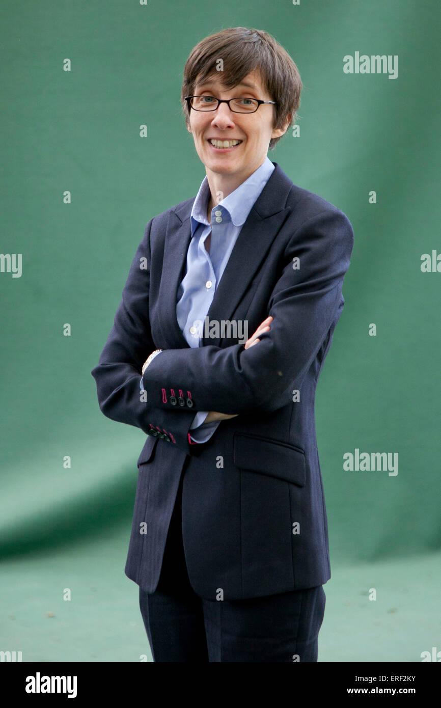 A L Kennedy at Edinburgh International Book Festival 2011 - Stock Image