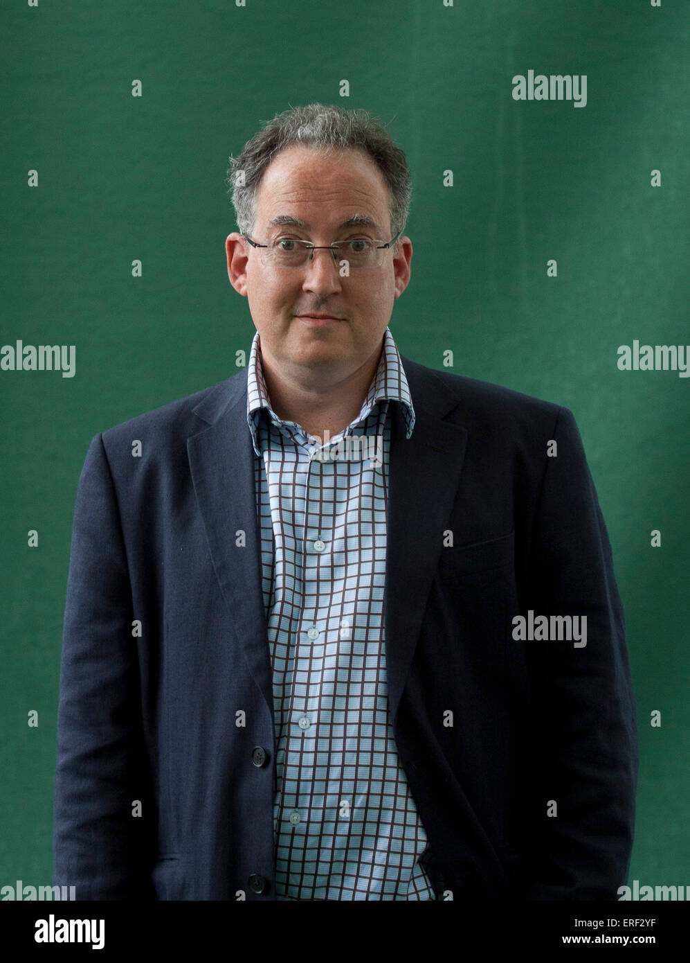 Gideon Rachman  at Edinburgh International Book Festival 2011 - Stock Image
