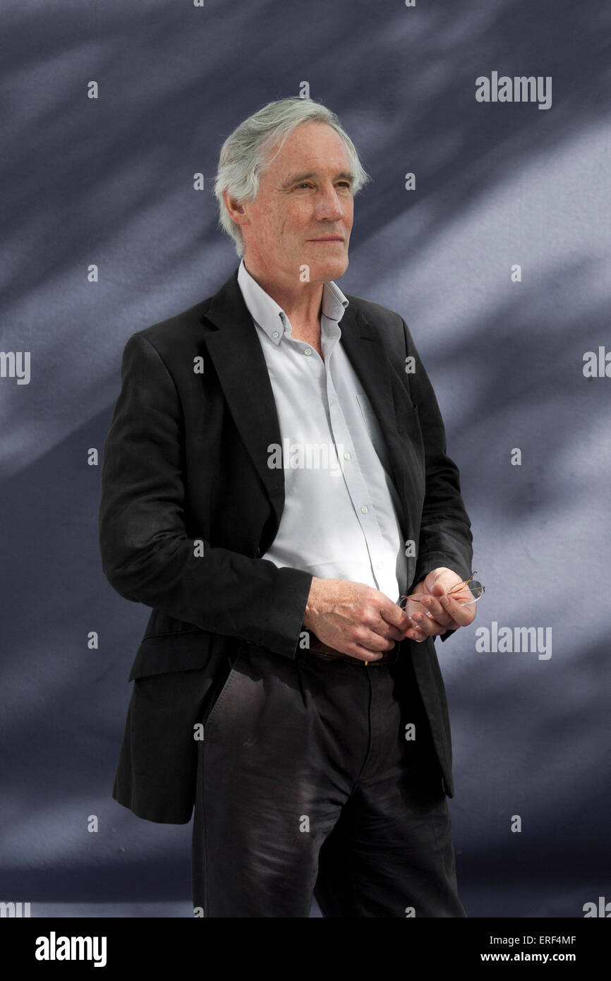 Alastair Hazell at  Edinburgh International Book Festival 2012.  There to give a talk on his latest book 'The - Stock Image