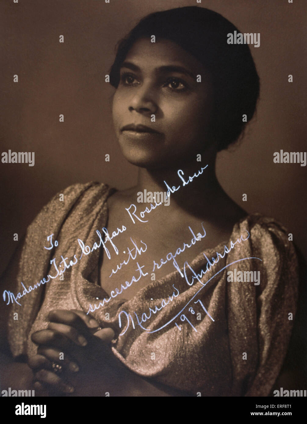Marian Anderson Stock Photos Images