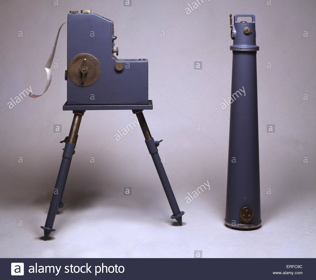 Mintrop seismograph, 1917. Courtesy of the Science Museum, London. - Stock Image