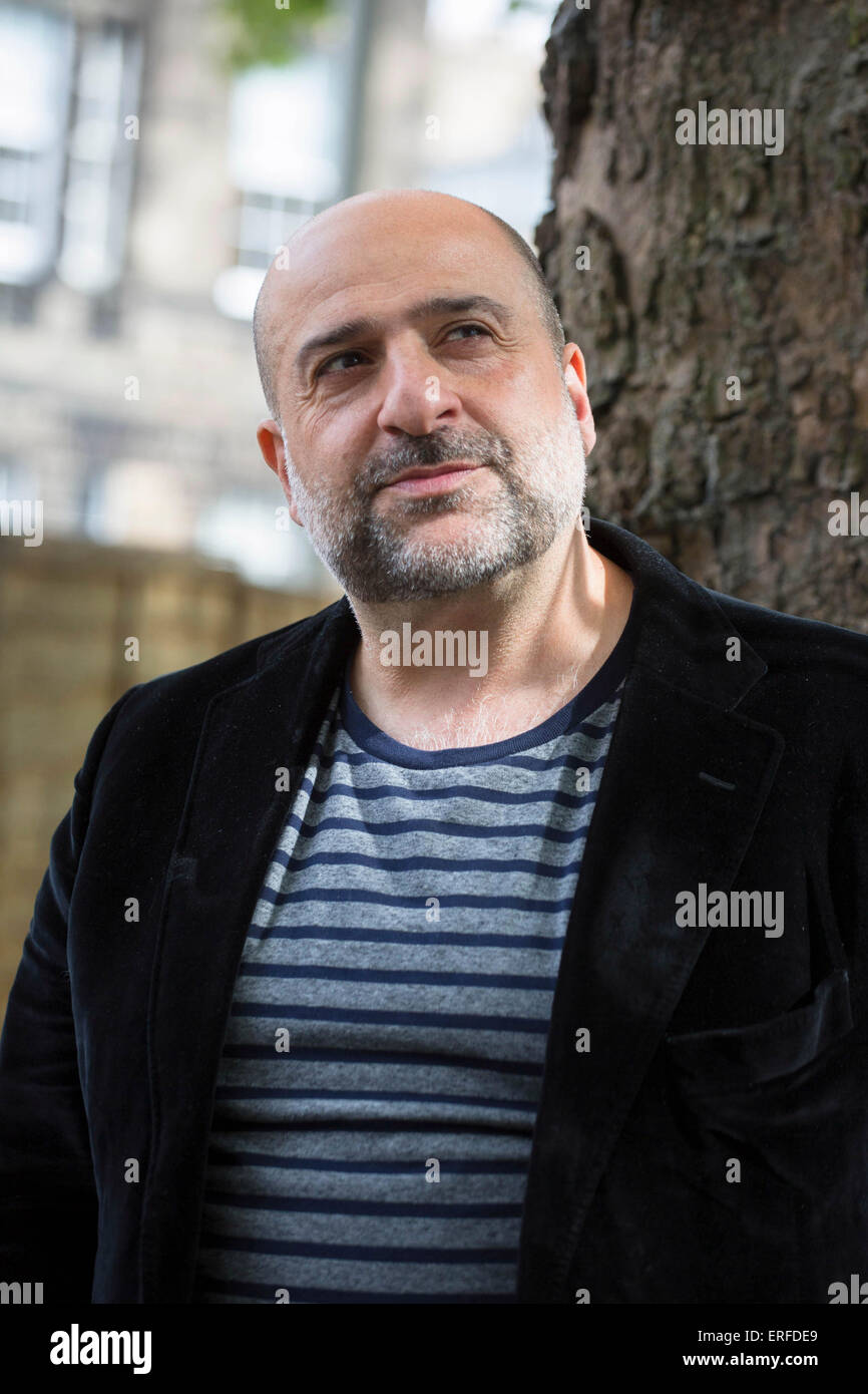22nd August 2014. Omid Djalili, British-Iranian comedian, actor and writer, gave a talk on his memoir A Particulary - Stock Image