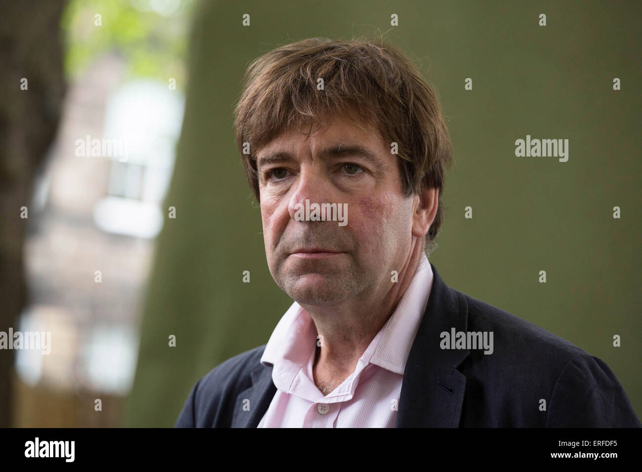 21st August 2014. Edinburgh Scotland. Robert Sackville-West, British publisher, author and guardian of Knole in - Stock Image