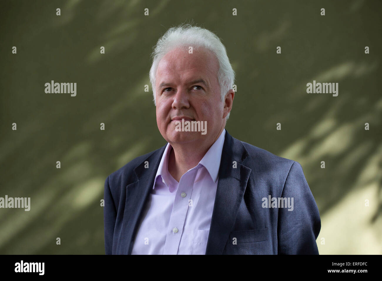 21st August 2014. Edinburgh Scotland. Taylor Downing, writer, historian and television producer, gave a talk on - Stock Image