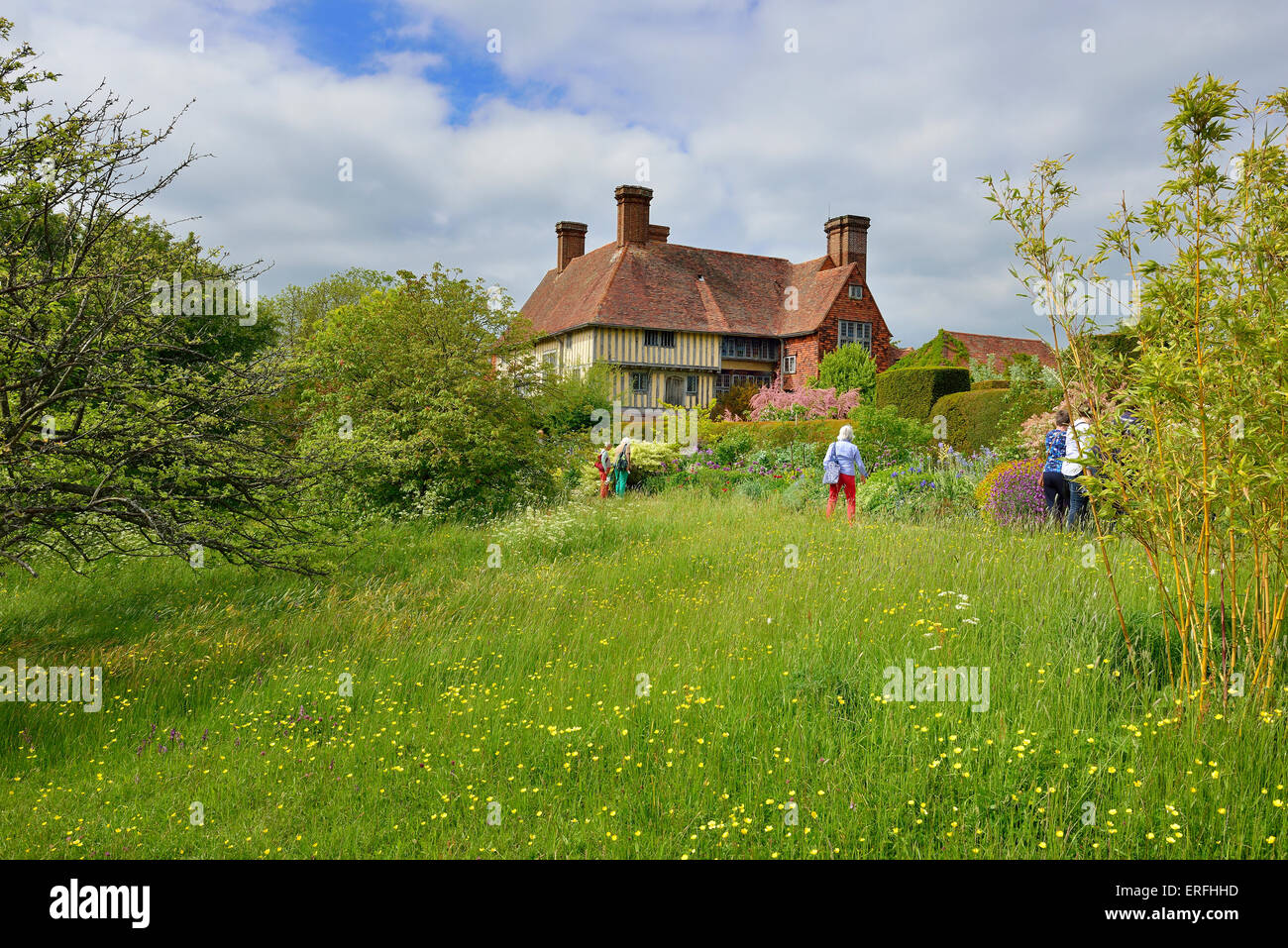 Great Dixter House and Gardens. Northiam, Rye. East Sussex. England. UK - Stock Image