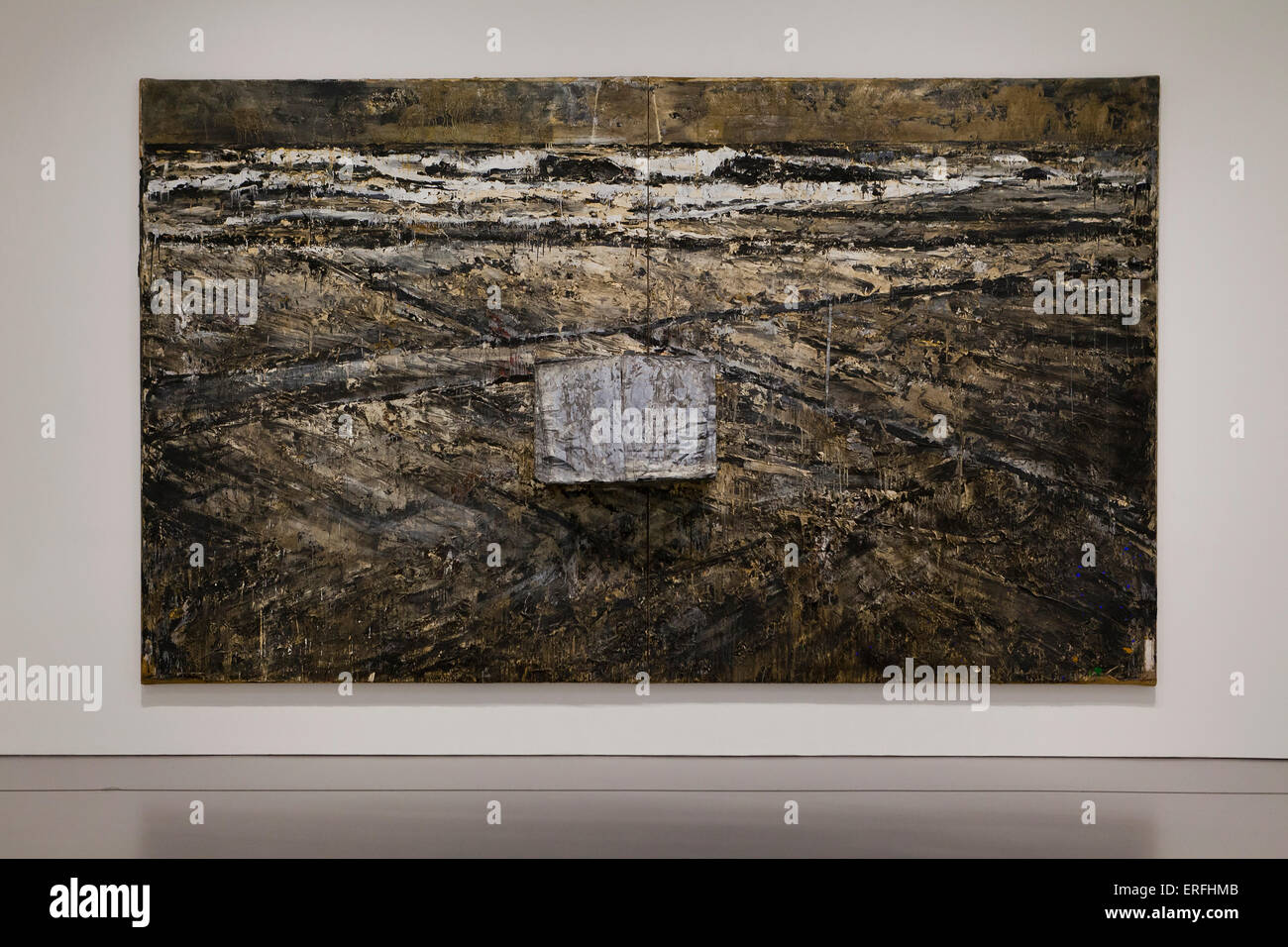 The Book by Anselm Kiefer, 1985 - Stock Image