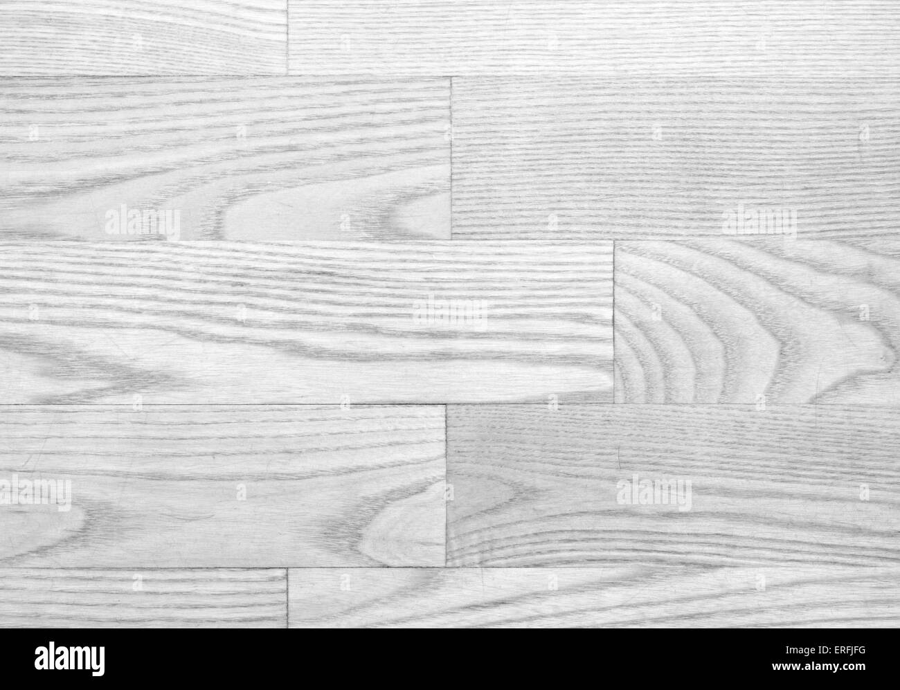 Gray parqueted floor, wooden texture with horizontal planks - Stock Image
