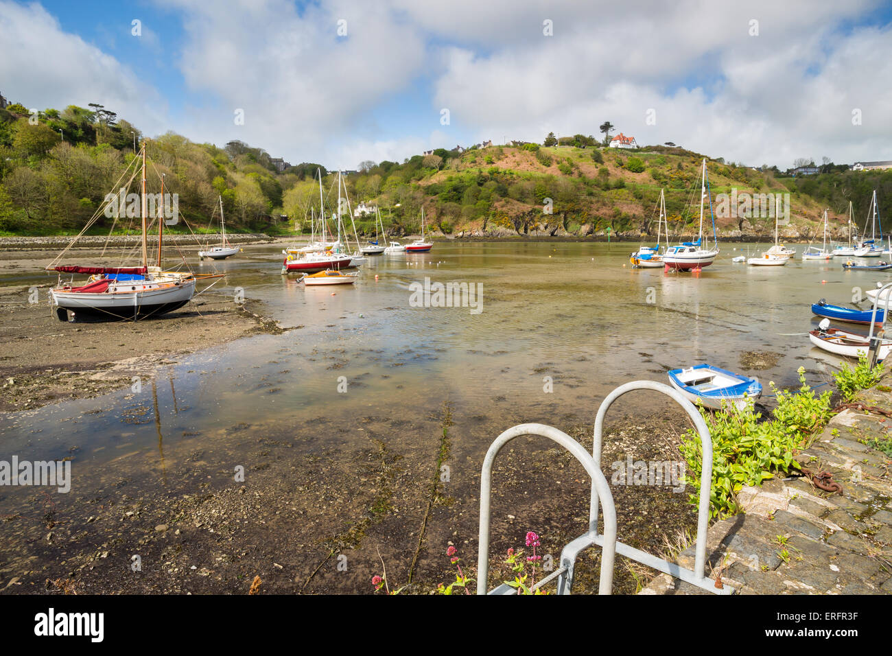 Fishguard a coastal town in Pembrokeshire, south west Wales UK Europe Stock Photo