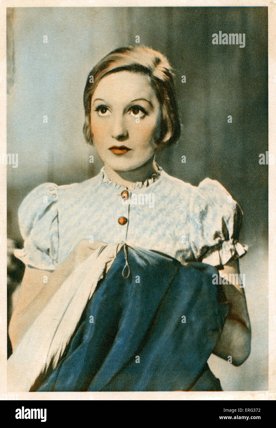 Elisabeth Bergner, Austrian-Ukrainian actress 22 August 1897 - 12 May 1986. - Stock Image