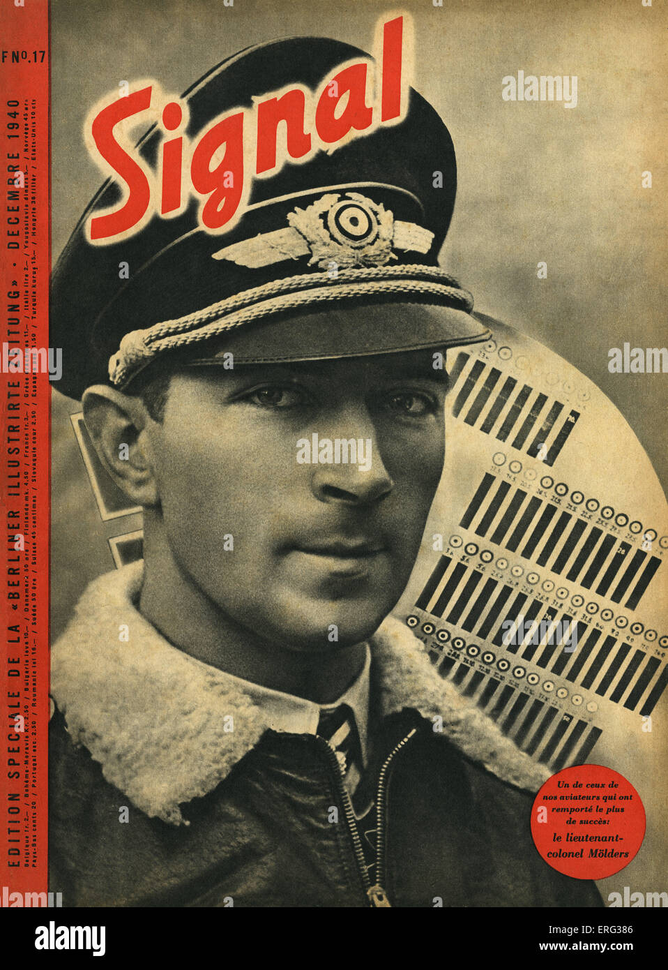 'Signal', a special French language edition of the 'Berliner Illustrirte Zeitung', Decmber 1940. - Stock Image