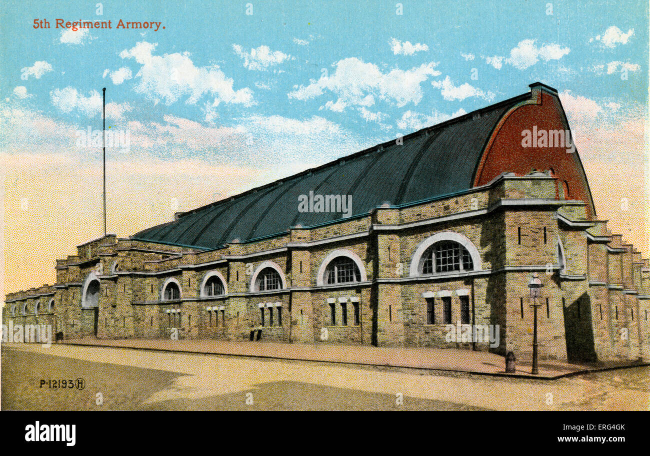 Baltimore: Fifth Regiment Armory - Stock Image