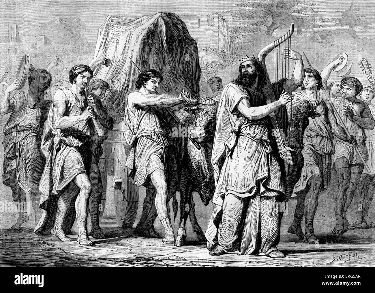 At Beth Shemesh Ark: David Bringing The Ark From Kirjath