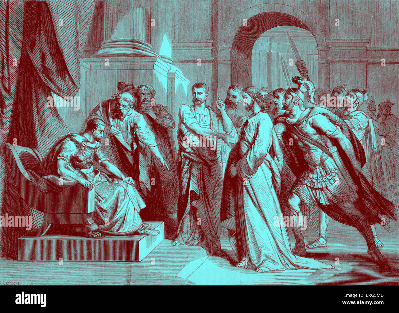 Christ Before Pilate High Resolution Stock Photography and Images - Alamy