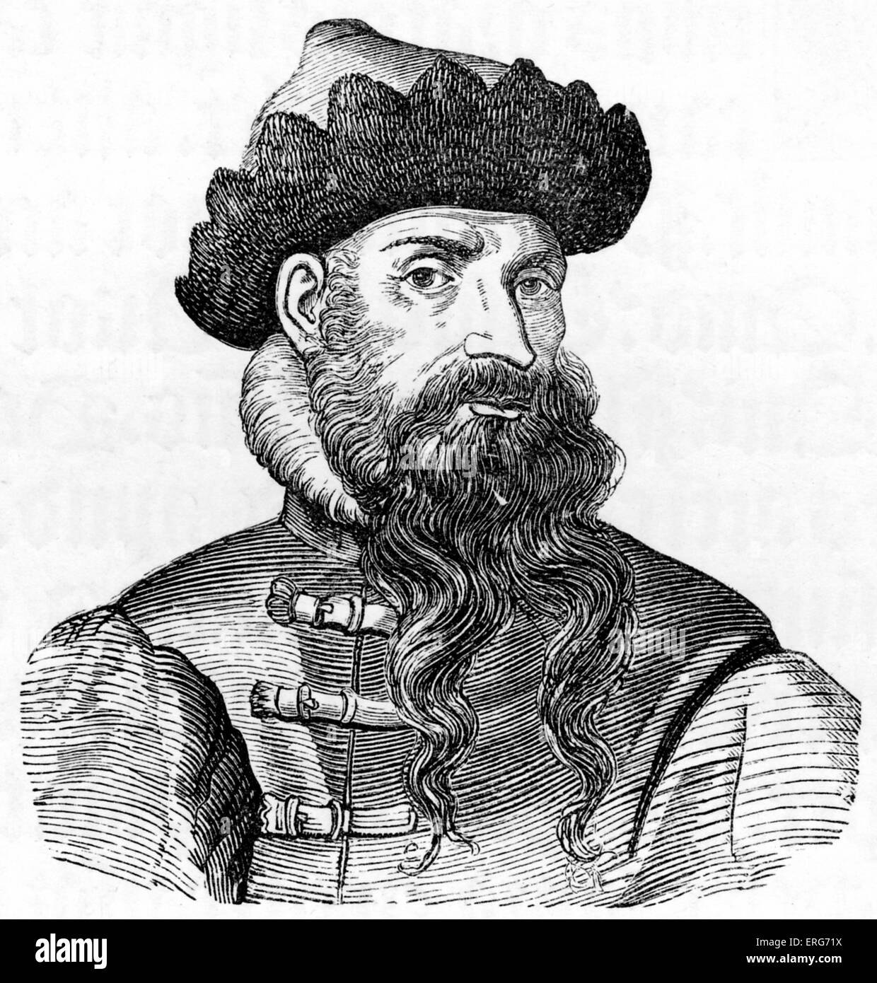 Johannes Gutenberg From A Sixteenth Century Engraving Inventor Of The Printing Press C 1398 3 February 1468