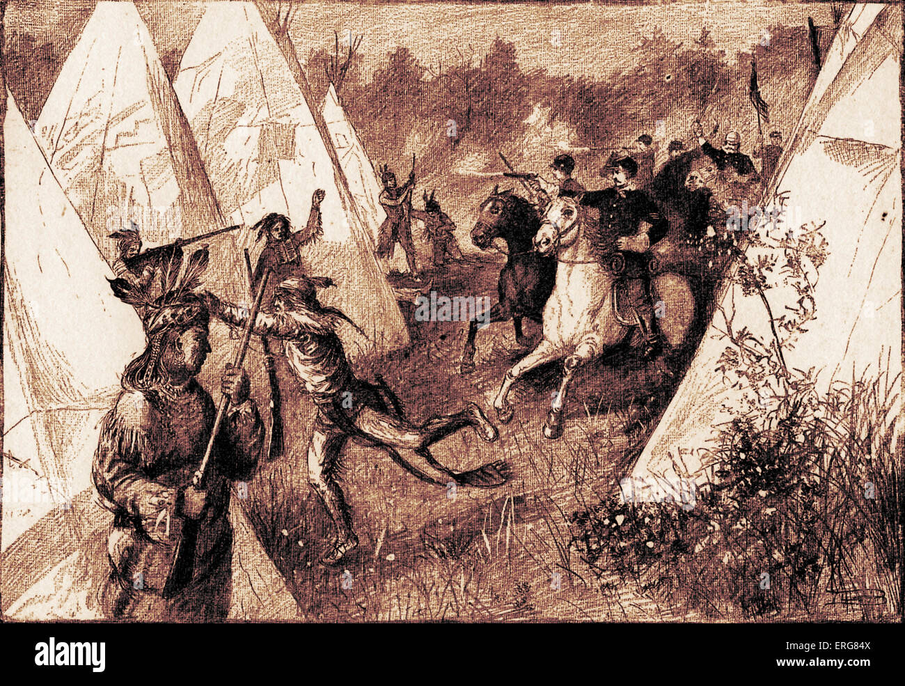 Red Indian Camp Stock Photos & Red Indian Camp Stock Images