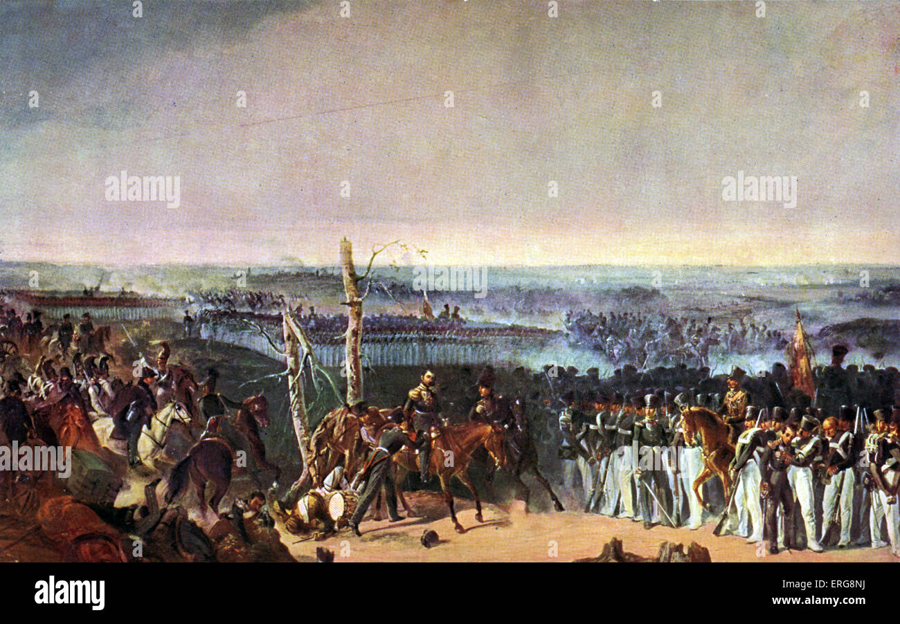 Battle of Borodino - French Invasion of Russia  7 September 1812