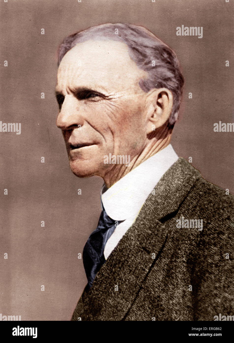 Henry Ford (30 July 1863 – 7 April 1947) - American industrialist, founder of Ford Motor Company, who sponsored - Stock Image