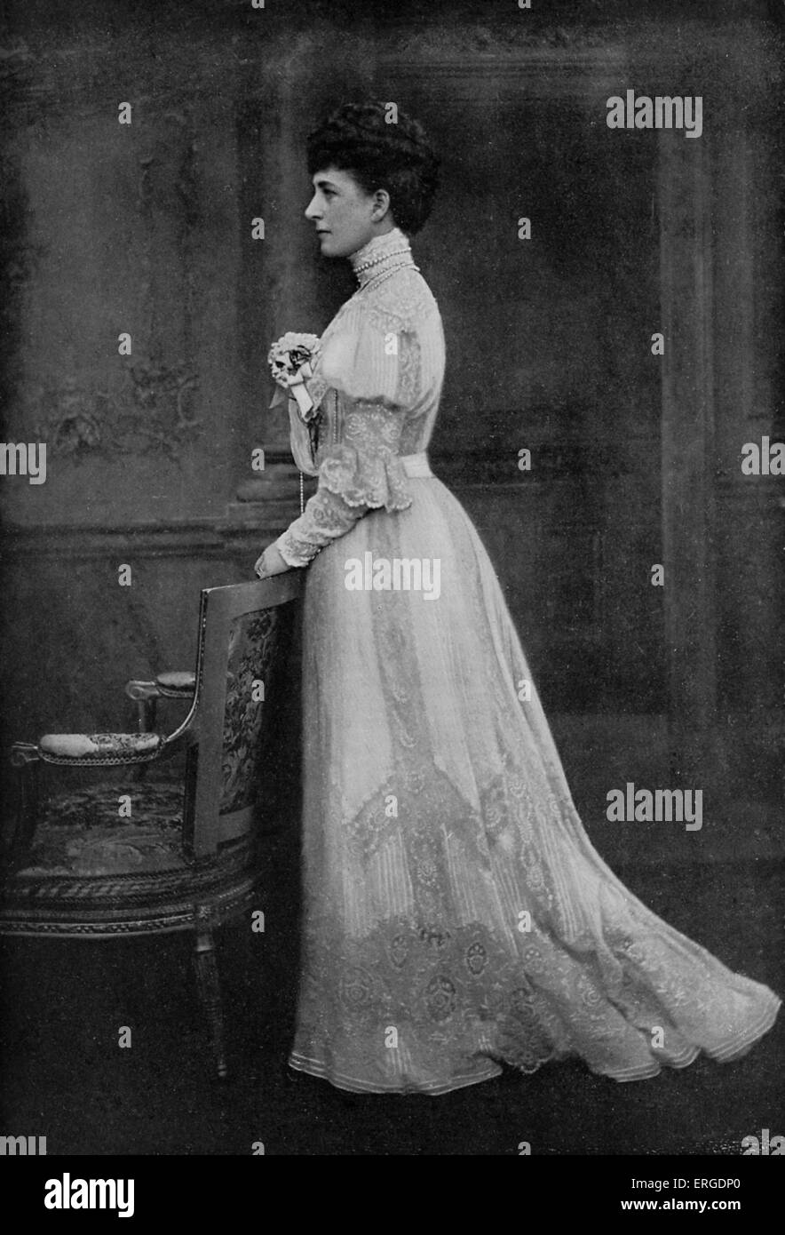 Edward Vii And Alexandra Stock Photos and Images