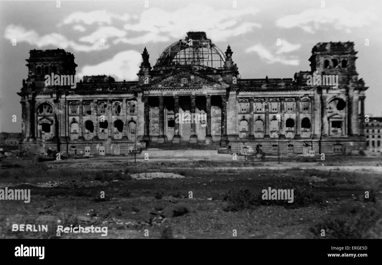German Parliament Building Fire