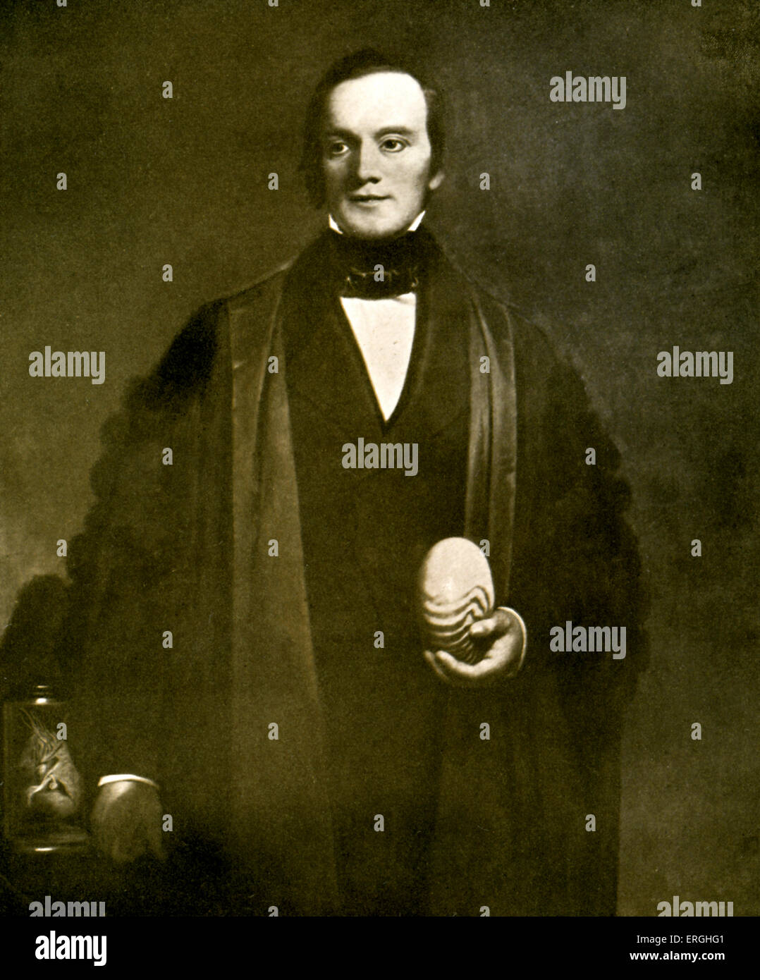 Sir Richard Owen. English professor,  biologist, comparative anatomist and paleontologist. 20 July 1804 – 18 December Stock Photo