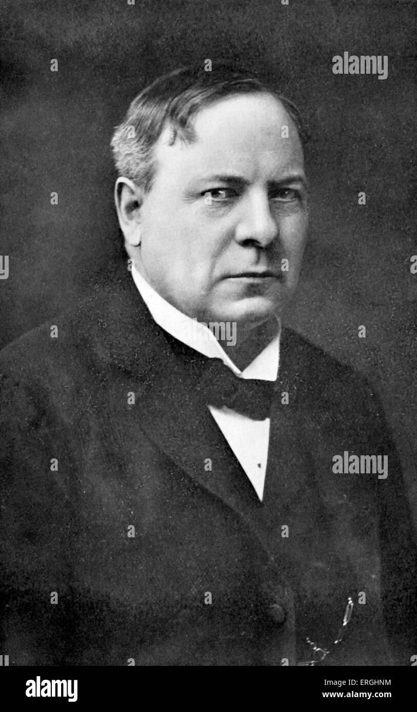 Richard Haldane, 1st Viscount Haldane. British Liberal Imperialist and later Labour politician. Lord Chancellor - Stock Image