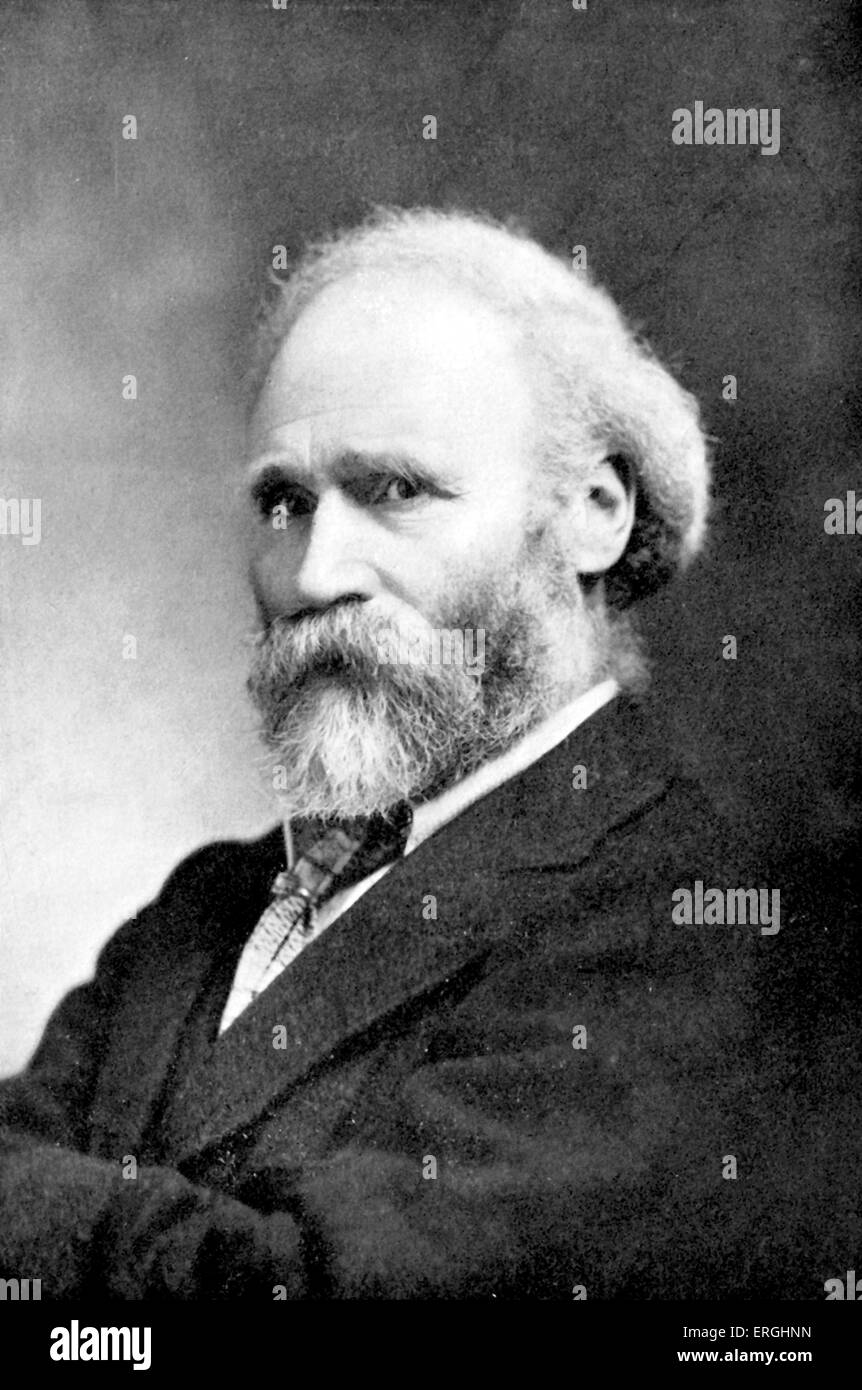 Keir Hardie. Scottish labour and socialist leader, first independent Member of Parliament for the Labour Party. - Stock Image