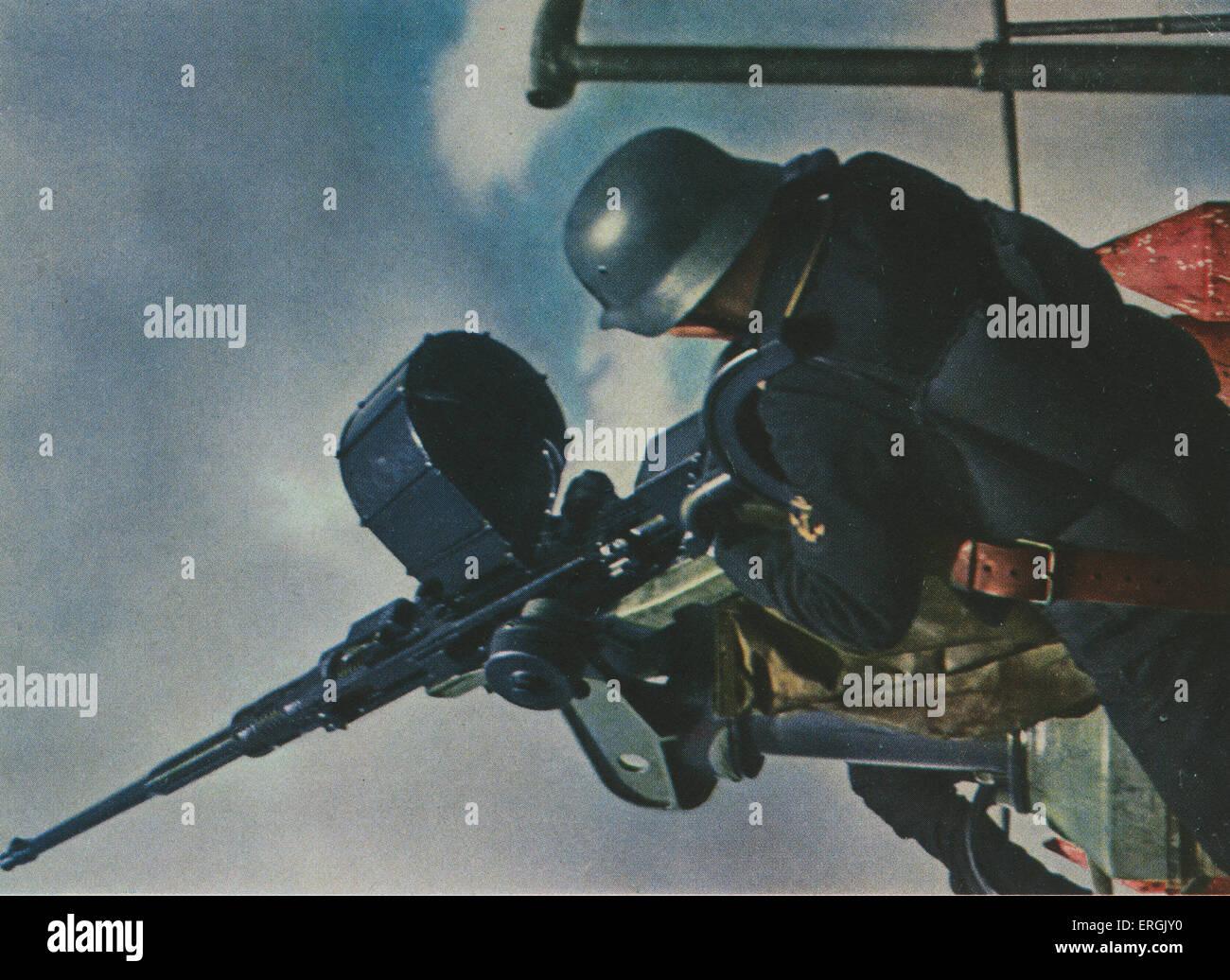 scots international brigade spanish civil war - Google ...  |Anti Aircraft Guns Spanish Civil War