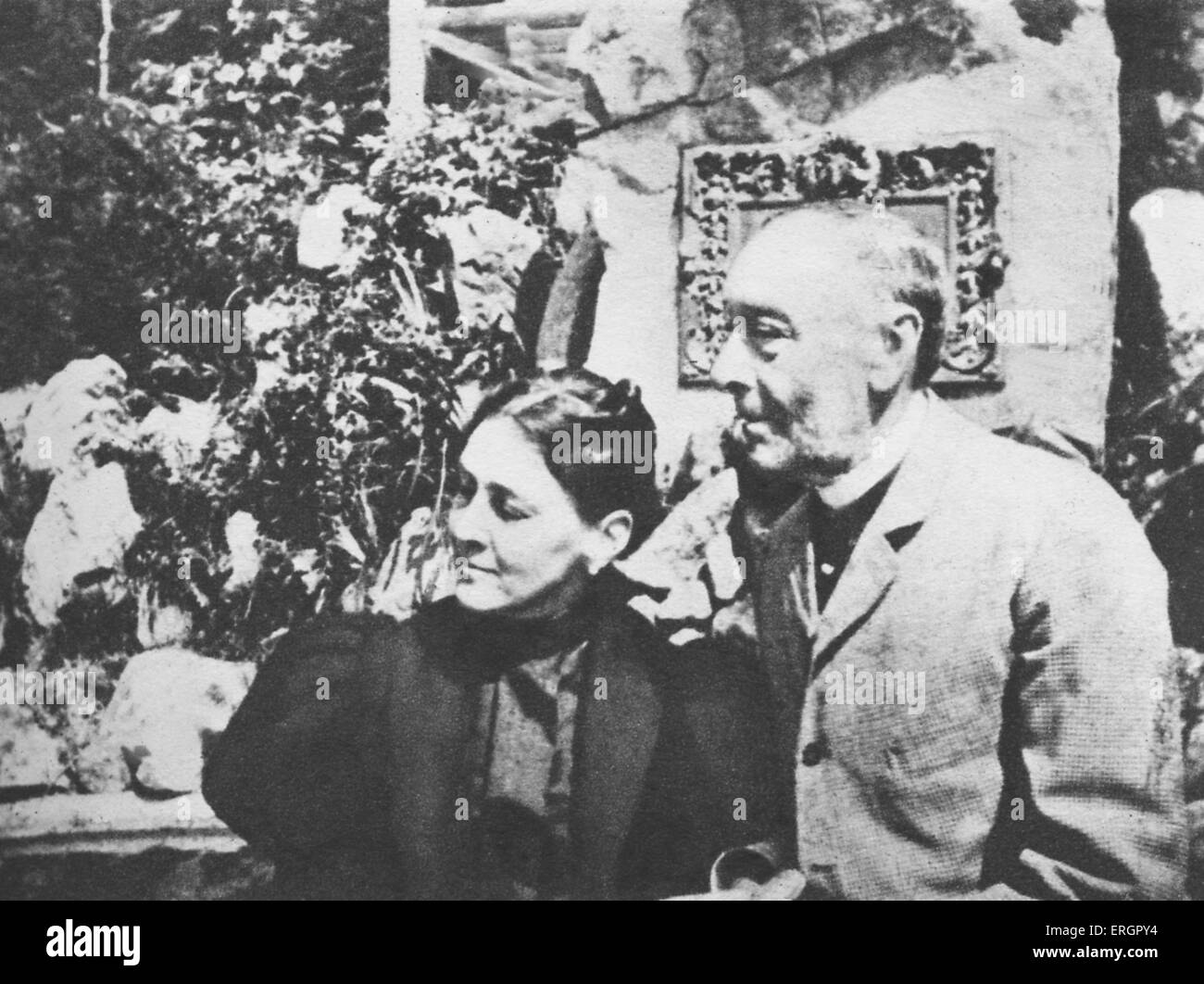 The Parents Of Franklin D Roosevelt James And Sara In St Blaisen Stock Photo Alamy
