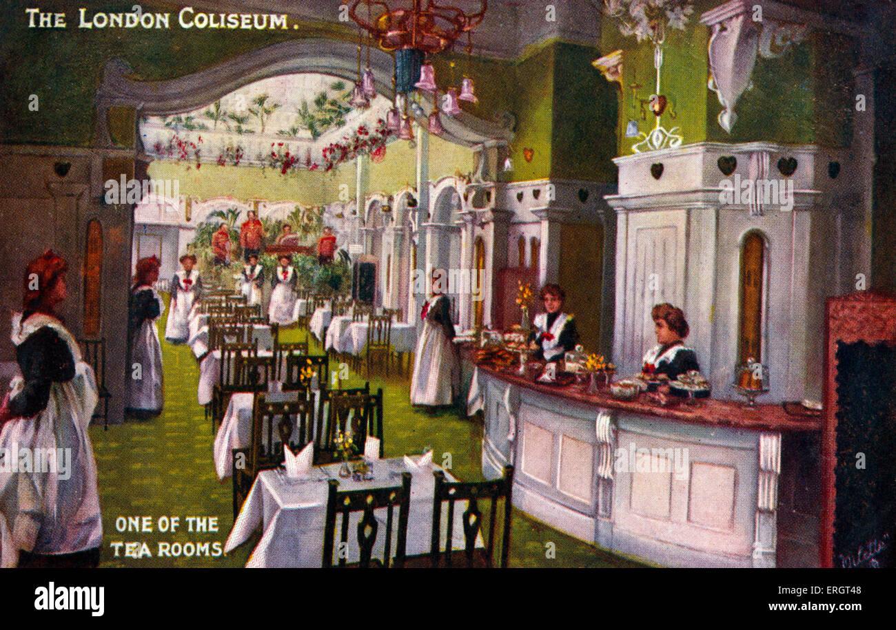 The tea room theater