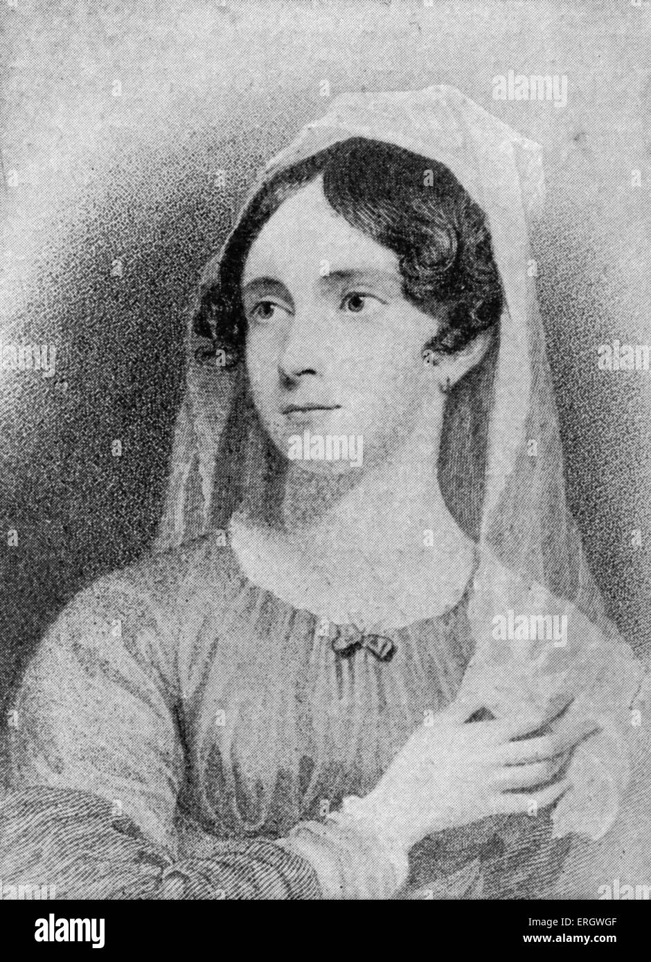 Anne Isabella Noel Byron: wife of George Gordon Byron, 17 May 1792–16 May 1860. LB: George Gordon Byron, 6th Baron - Stock Image