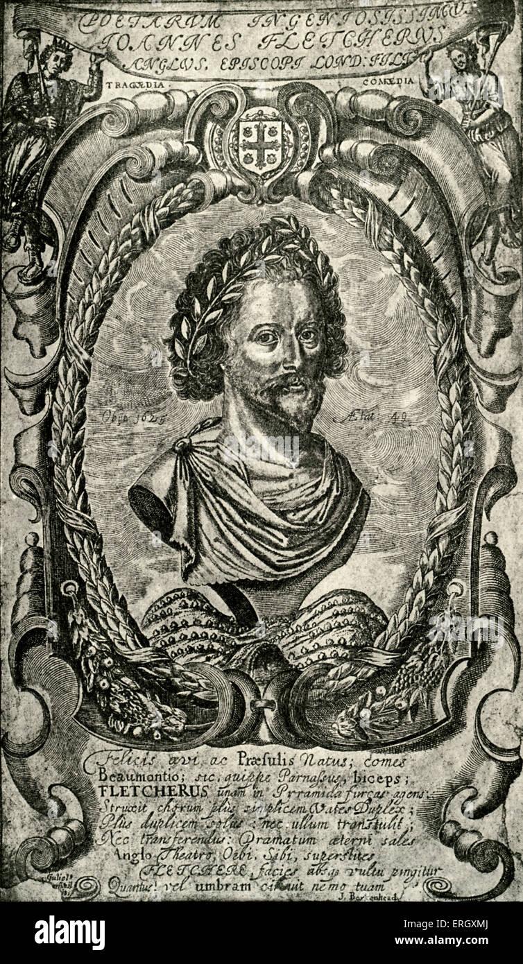 John Fletcher: Jacobean playwright, 1579 – 1625. - Stock Image